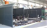 Sound protection walls for grinding and welding workstations